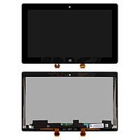 Дисплейный модуль (дисплей + сенсор) для Microsoft Surface RT 2, черный, оригинал