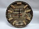 """Настенные часы из дерева """"пробка"""", фото 3"""