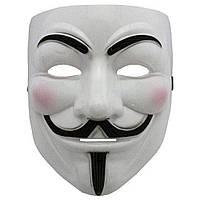 Маска Гая Фокса из фильма «V» значит Вендетта маска Anonymous