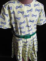 Летнее детское платье лимонного цвета., фото 1