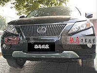 Декоративная накладка на передний бампер Lexus RX350 2009-2012