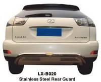 Защита заднего бампера (труба) Lexus RX330 2003-2009
