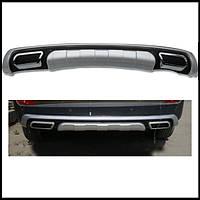 Накладка на задний бампер Hyundai IX35 2009-2012