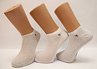 Носки мужские в сеточку Томми Хилфигер короткие, фото 1