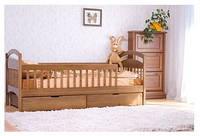 Кровать подростковая Арина с ящиками и защитными перегородками