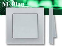 Выключатели и розетки MERTEN Серия M-PLAN, фото 1