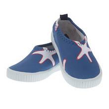 Обувь пляжные слипоны для мальчика синие с морскими звездами Archimede, Бельгия