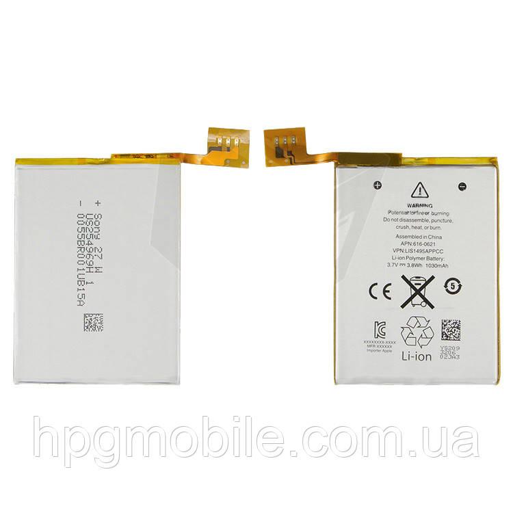 Батарея (АКБ, аккумулятор) для iPod Touch 5G (#616-0621), оригинал