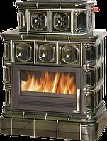 Кафельная печь ABX с водяным контуром Karelie цоколь TV 1 теплообменник 10,5  kW