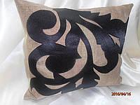"""Декоративна подушка """"Ажур"""" (в наявності 1 штука), фото 1"""