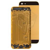 Корпус для Apple iPhone 5, оригинальный (золотой)