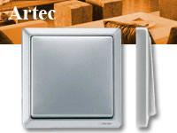 Выключатели и розетки MERTEN Серия ARTEC, фото 1