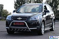 Передняя защита для Chevrolet Captiva 2006-2010 Inform ST Line
