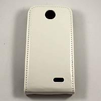 Чехол-флип для HTC Desire 310 Белый Mobiking