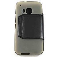 Чехол-книжка для HTC One M9 Чёрный S-Ch