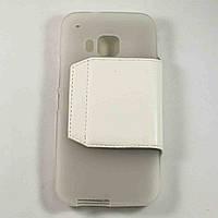 Чехол-книжка для HTC One M9 Белый S-Ch