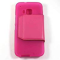Чехол-книжка для HTC One M9 Розовый S-Ch