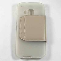 Чехол-книжка для HTC One M9 Золотой S-Ch