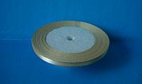 Лента атласная 0,5 см с люрексом №02