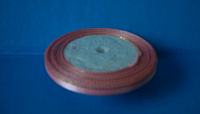 Лента атласная 0,5 см с люрексом №04