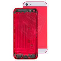 Корпус для Apple iPhone 5, оригинальный (красный)