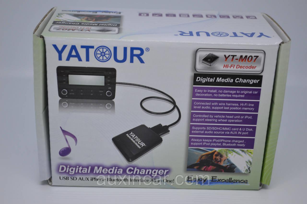 MP3 aux usb IPOD эмулятор сд Yatour M07 TOY2 для Lexus