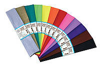 Бумага гофрированная металл. пурпурный 20% (50см*200см) 703006 1 Вересня