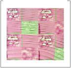 """Коврик """"Весенняя мелодия, розовая"""", 65*46 см"""