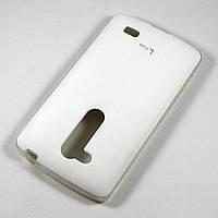 Чехол-крышка для LG L Fino D295 Белый Voia