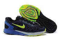 Мужские Кроссовки Nike LunarGlide синие, фото 1