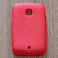 Чехол-крышка для LG L20 D105 Красный Silicon