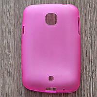 Чехол-крышка для LG L20 D105 Розовый Silicon