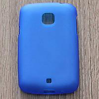 Чехол-крышка для LG L20 D105 Синий Silicon