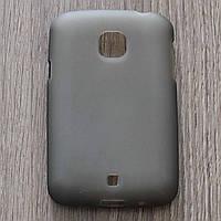 Чехол-крышка для LG L20 D105 Серый Silicon