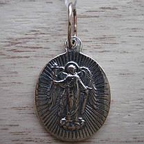 Серебряная подвеска-ладанка Святая Фотина (Светлана), фото 2