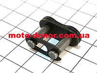 Звено (замок) цепи привода 428H для мопеда DELTA