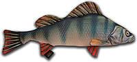 Игрушка антистрессовая 3K Fish Окунь гигантский 105х47см