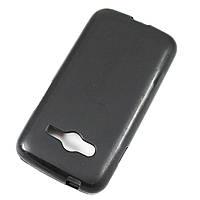Чехол-крышка для Samsung Galaxy Ace 4 G313 Чёрный Silicon