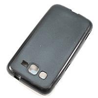 Чехол-крышка для Samsung Galaxy Core Advance I8580 Чёрный Silicon