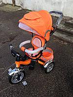 Велосипед Ardis Maxi Trike с надувными колесами детский оранжевый