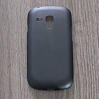 Чехол-крышка для Samsung Galaxy S3 Mini I8200 I8190 Чёрный Пластик