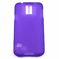 Чехол-крышка для Samsung Galaxy S5 G900F G900H Фиолетовый Silicon