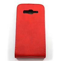 Чехол-флип для Samsung Galaxy Core Advance I8580 Красный Mobiking
