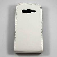 Чехол-флип для Samsung Galaxy Core Advance I8580 Белый Mobiking