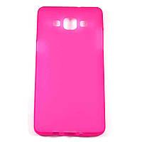 Чехол-крышка для Samsung Galaxy A5 A500H Розовый Silicon