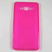 Чехол-крышка для Samsung Galaxy A7 A700H Розовый Silicon