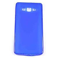 Чехол-крышка для Samsung Galaxy A7 A700H Синий Silicon
