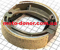 Колодки тормозные задние (пружины под углом) к-кт для мопеда DELTA