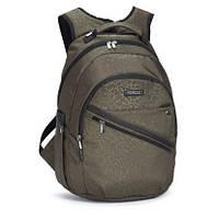 Молодежный рюкзак для школы и города Dolly 344 хаки-серый, фото 1