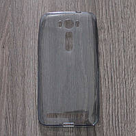 Чехол-крышка для Asus ZenFone 2 Laser ZE500KL Чёрный Silicon